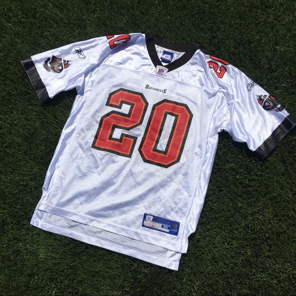 NFL Buccaneers Ronde Barber white jersey